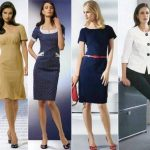 How to make friends fashion with a dress in a business style?