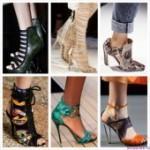 Весенне – летние коллекции обуви 2015 из модных коллекций известных брендов