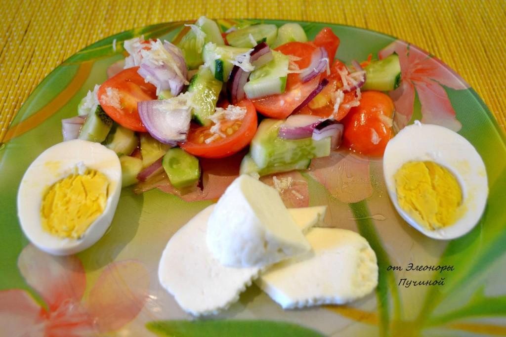 используют салат на завтрак рецепт с фото что