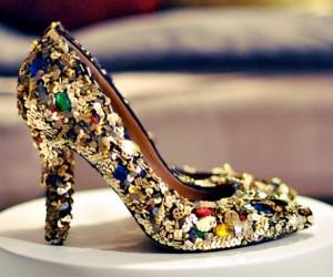декорируем обувь сами